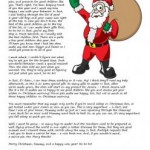 Free personalised letter from Father Christmas