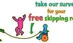 Free skipping rope