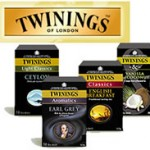 2 free Twinings Tea samples