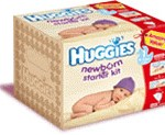Free Huggies newborn starter kit