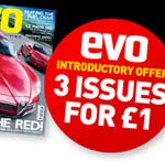 3 copies of evo Magazine for £1