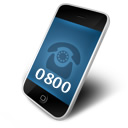 Call 0800 numbers free from mobile phones