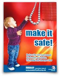 Making blind cords safe