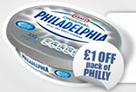 Print Philadelphia 1 money off coupon