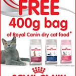 Royal Canin 400g bag of cat food