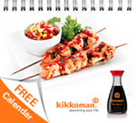 Free Kikkoman calendar