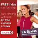 Free gym pass form LA Fitness