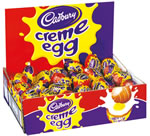 Enter free competition to win 100 Cadbury Creme Eggs