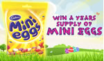 Win a years supply of Carbury Mini Eggs