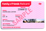 Free 2 month Family &amp; Friends railcard