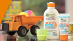5,000 Garnier Ambre Solaire kids sun lotion to be won