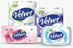 Velvet tissue 50p money off voucher