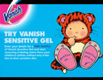 Vanish Sensitive Gel free sample