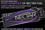 Free sample of Nectar Fuel