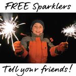 Free Sparklers from Tesco