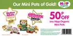 HiPP Organic Mini Pots voucher