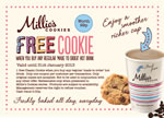 Free Millies Cookie