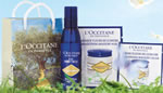 L&#039;Occitane face treatment