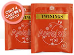 Twinings Tea samples
