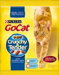 Go Cat Crunchy & Tender cat food free sample