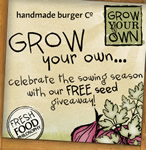 Free pack of parsley or red onion seeds
