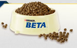 Purina BETA dog food sample
