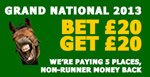 Free 20 bet with 20 deposit at Paddy Power