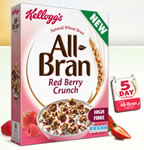 Free Kellogg's All Bran Red Berry Crunch cereal