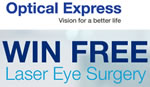 Win laser eye surgery