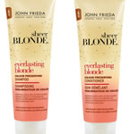 John Frieda Everlasting Blonde Shampoo and Conditioner sachets