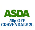 Printable voucher, 50p off Cravendale milk