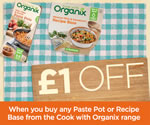 Organix £1 money off printable voucher