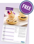 Free 2014 calendar from Trex