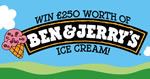 Win £250 worth of Ben & Jerry's ice cream