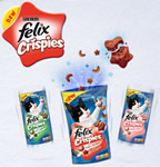 Felix Crispies sample