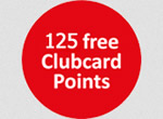 125 Free Tesco Clubcard Points