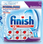 Finish Power & Pure Quantum Dishwasher Tablet
