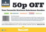 Newburn Bakehouse 50p off voucher