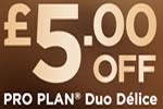 Pro Plan Duo Délice voucher