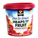 Quaker Oats So Simple Heaps of Fruit pots