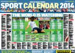 Free 2014 Sports Calendar