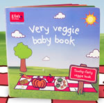 Ellas Kitchen Very Veggie baby book