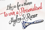 Personalised Wilkinson Sword Hydro 5 razor