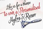 Personalised Wilkinson Sword Hydro 5 razor