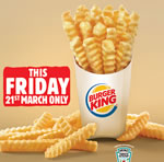 Free Burger King SatisFries