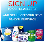 £1 off Danone voucher to print out