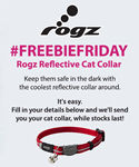 Free reflective cat collar