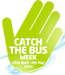 Free Arriva bus travel during Catch The Bus Week 2014