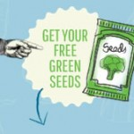 Free pack of Green Seeds