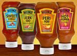 Heinz Chilli Sauces